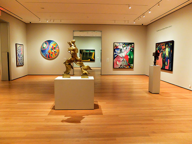 Museum of Modern Art MoMA in New York - Leeg Museum