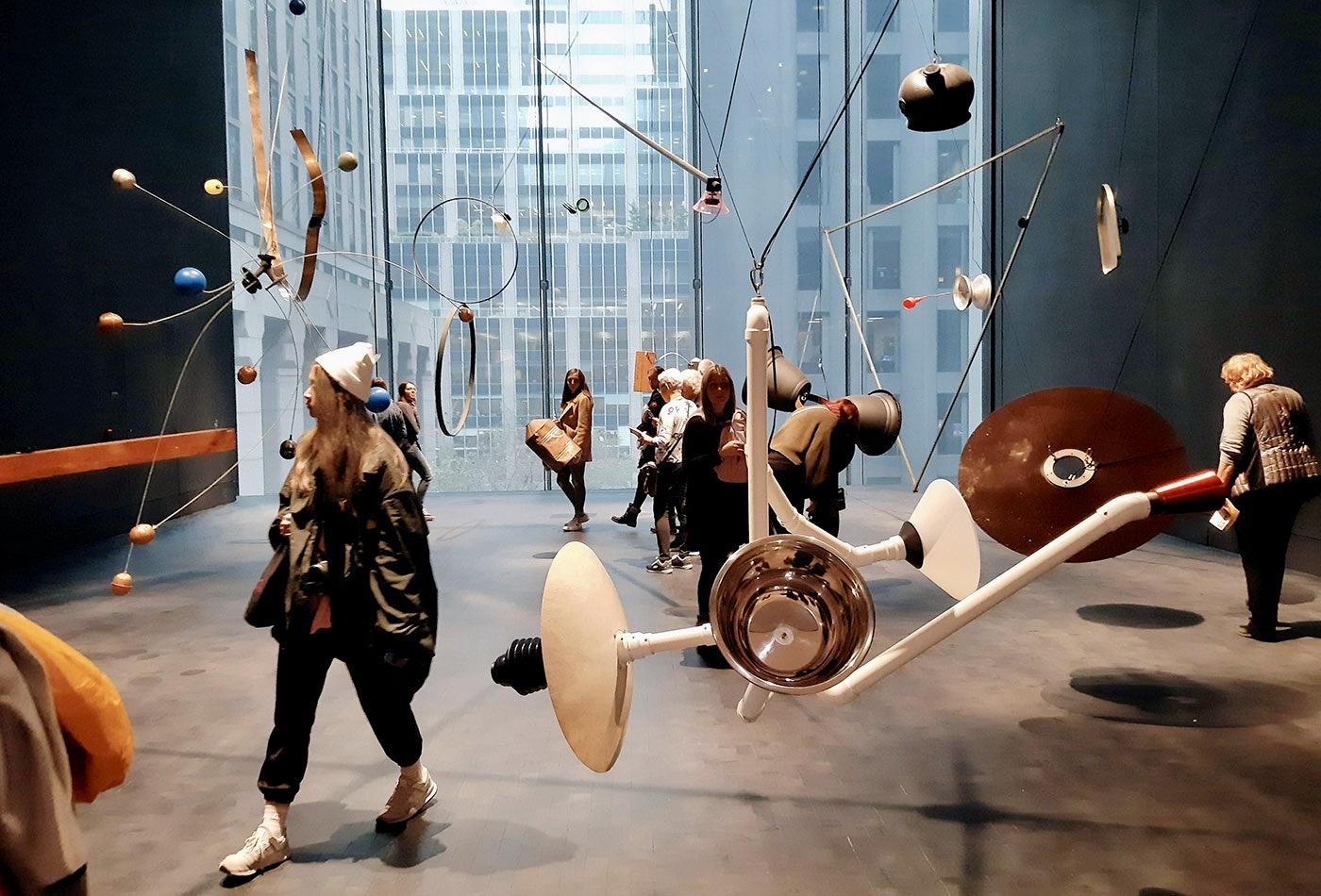 Museum of Modern Art MoMA in New York - Installatie