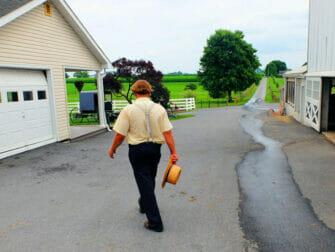 New York naar Philadelphia en de Amish