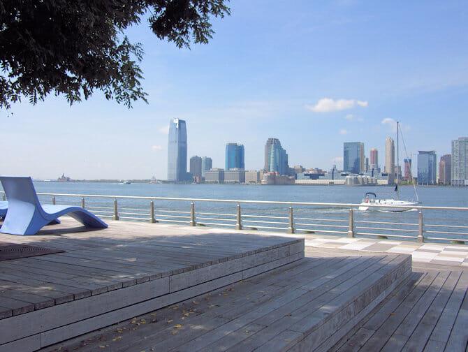 pier 25 in tribeca new york