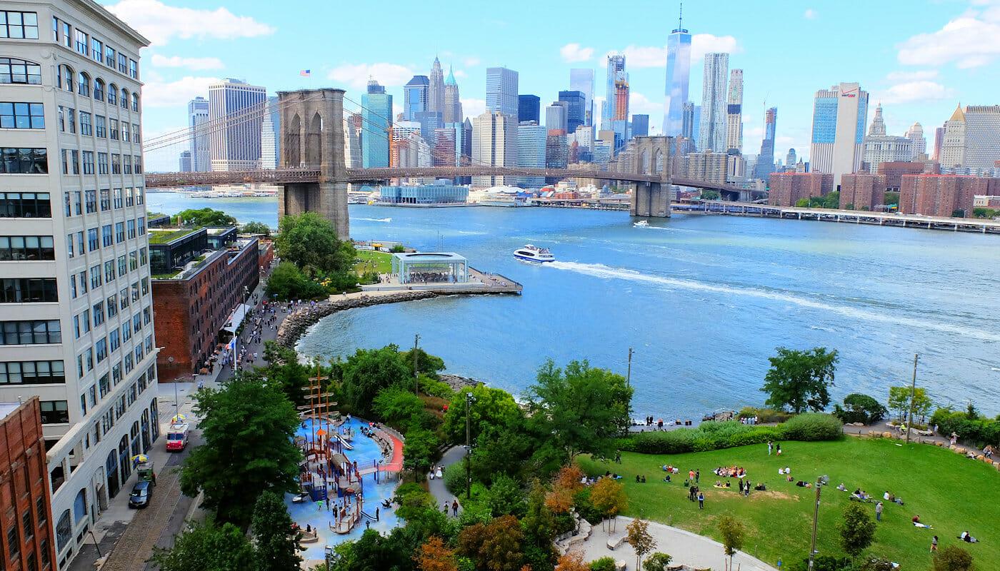 Speeltuinen in New York - Main Street Playground