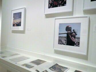 Het International Center of Photography in New York - Tentoonstellingsruimte