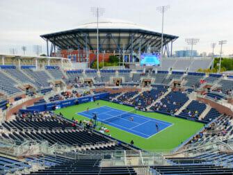 US Open Tennis Tickets - Arthur Ashe Stadium vanaf Grandstand
