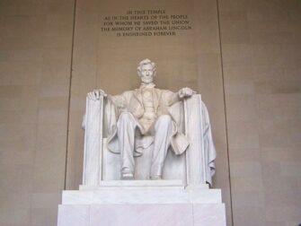 Dagtrip vanuit New York naar Washington D.C. met de bus - Lincoln Memorial