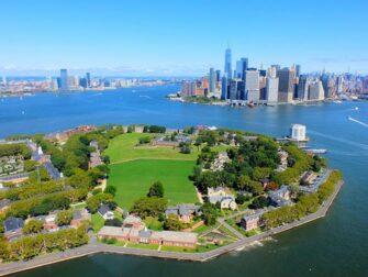 Helikoptervluchten routes in New York - Govenors Island