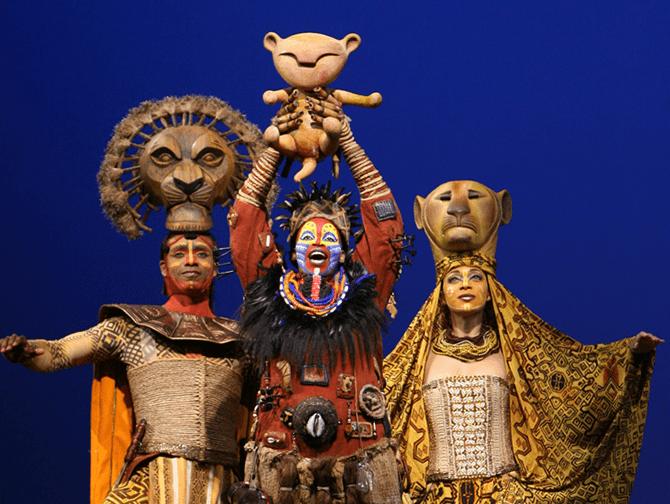 The Lion King op Broadway Tickets - Rafiki