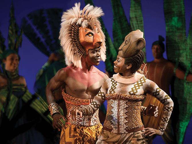 The Lion King op Broadway Tickets - Simba en Nala