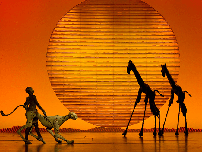 The Lion King op Broadway Tickets - Podium
