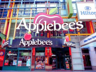 Met kinderen uit eten in New York - Applebees
