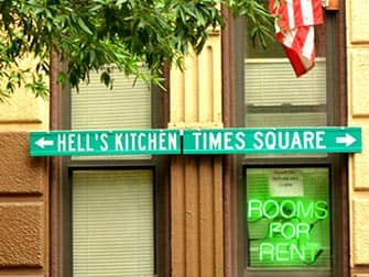 Hells Kitchen in NYC - Wegweizer