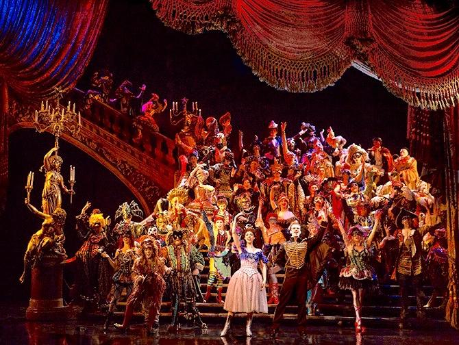 The Phantom of the Opera op Broadway Tickets - Masquerade