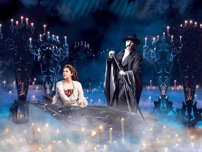The Phantom of the Opera op Broadway Tickets - Varen