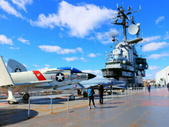 Veterans Day in New York - Intrepid Museum
