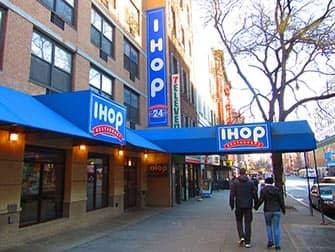 Typisch Amerikaans eten in New York - IHOP