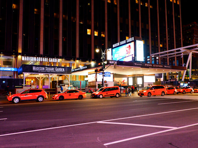 Madison Square Garden in New York - Billboard
