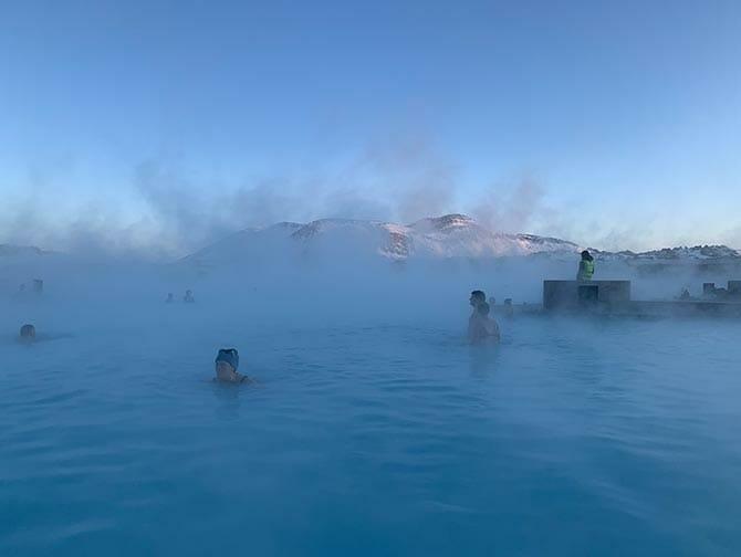 Stopover in IJsland op weg naar New York - Blue Lagoon
