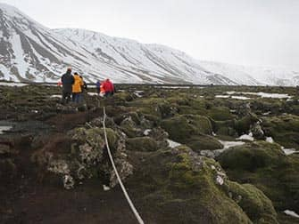 Stopover in IJsland op weg naar New York - Lava