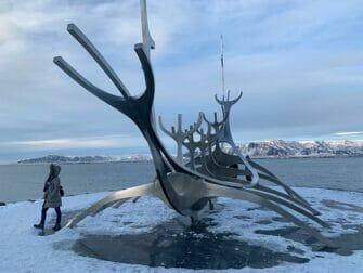 Stopover in IJsland op weg naar New York Solfar