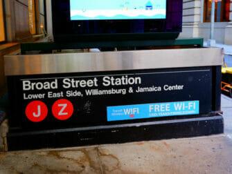 WiFi in New York - WiFi in metrostation Fifth Avenue
