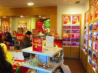 Make-up in New York - Bath and Body Works interieur