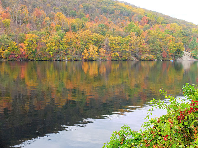Dagtocht naar Bear Mountain in New York - Herfstkleuren