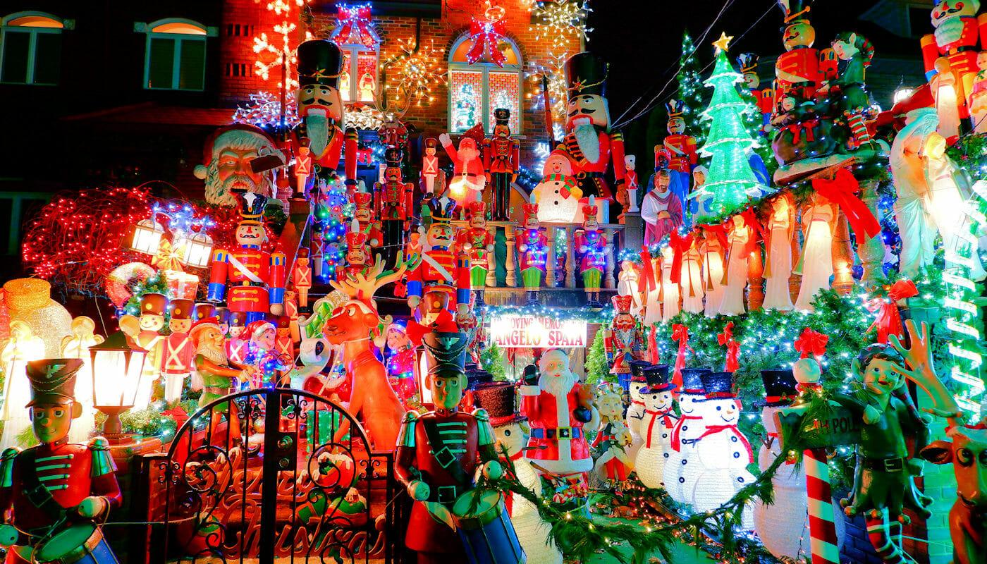 Dyker Heights Christmas Lights - Decoraties