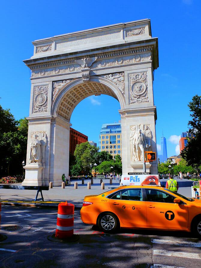 Fietstour door Manhattan - Washington Square Park
