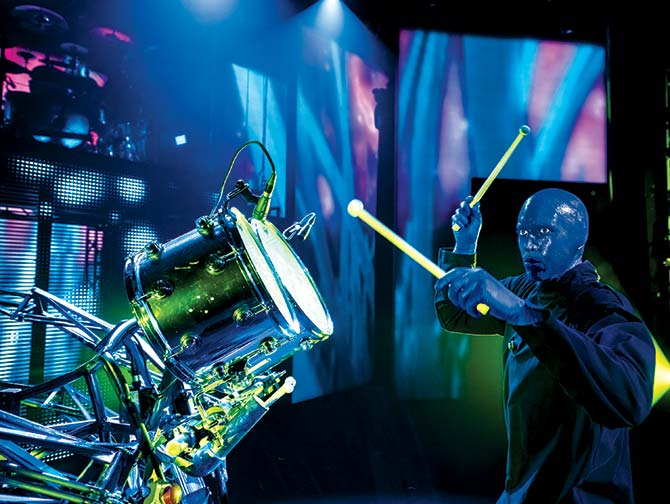 Blue Man Group in New York Tickets - Drummer
