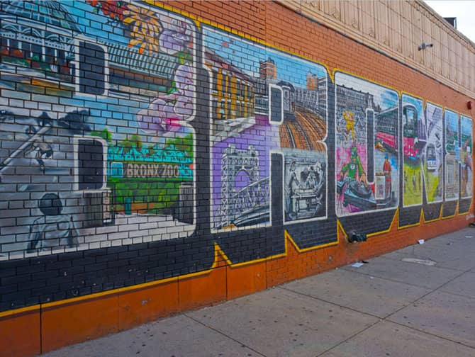Brooklyn, Queens en The Bronx Tour - Bronx Street Art
