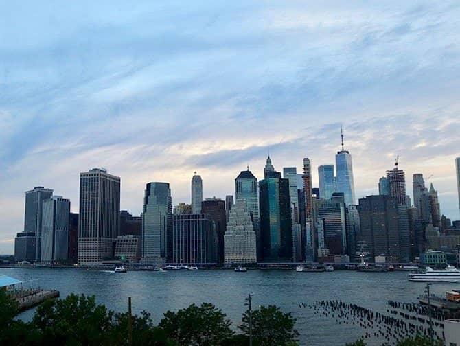 Avondtour in New York - Skyline vanuit Brooklyn