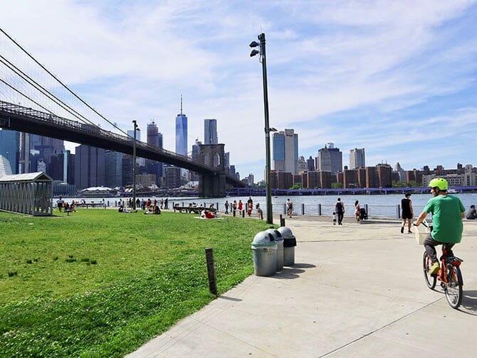 Fietsen huren in New York - Fietsen in Brooklyn