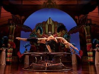 Cirque du Soleil in New York Tickets - Balanceren