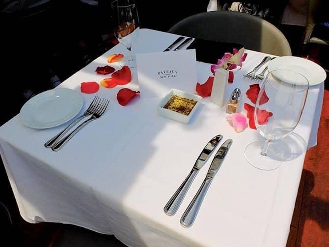 Bateaux Lunch Cruise in New York - Romantische Lunch