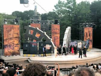 Shakespeare in the Park in New York - Publiek
