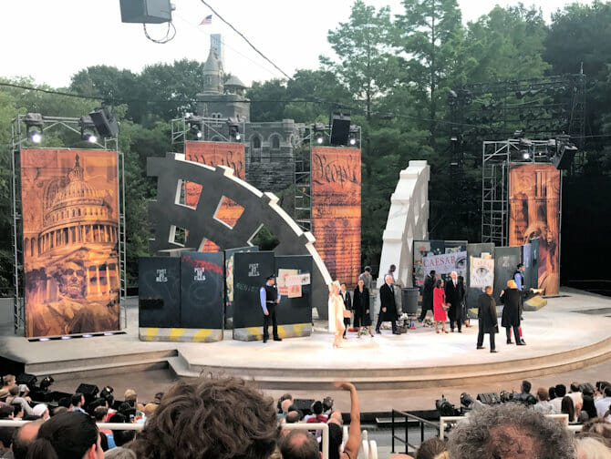 Shakespeare in the Park in New York - Publiek