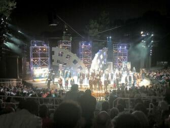 Shakespeare in the Park in New York - Eind van de Show