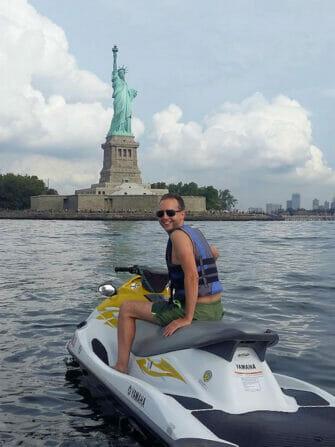 Zwemmen in New York - Jetski