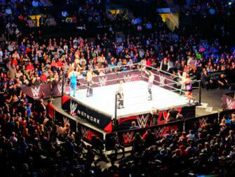 WWE Worstelen in New York Tickets - Wedstrijd