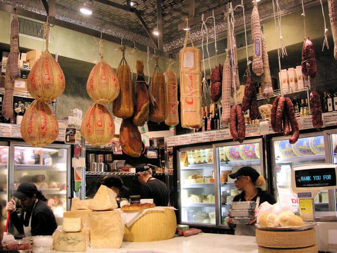 Chinatown en Little Italy Foodtour - Italiaanse kazen