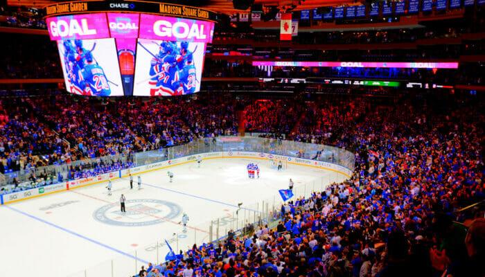 NHL Ijshockey in New York