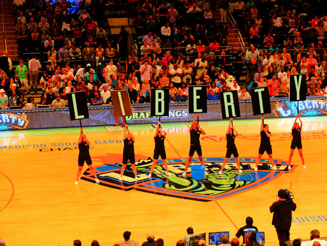 New York Liberty Basketbal Tickets - Wedstrijd