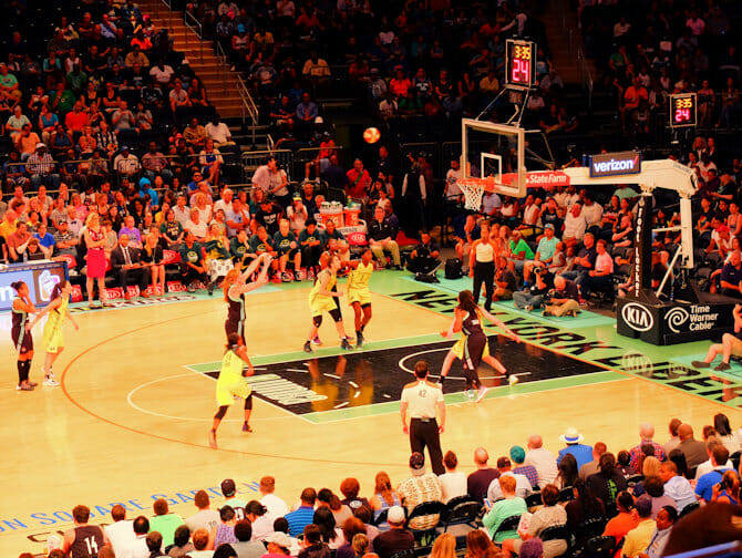 New York Liberty Basketbal Tickets - Spelers