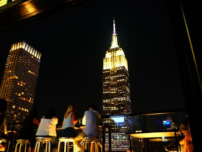 Rooftopbartour in New York