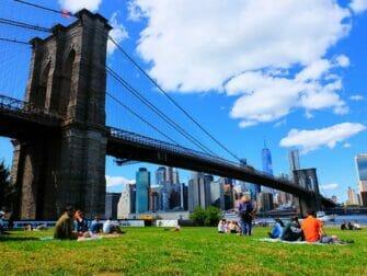 Mooiste uitzichten van New York - Brooklyn Bridge Park