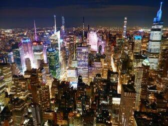 Mooiste uitzichten van New York Empire State Building