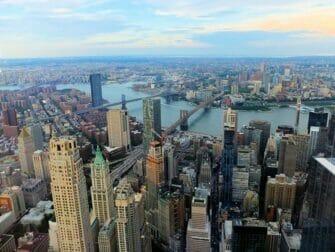 Mooiste uitzichten van New York One World Observatory