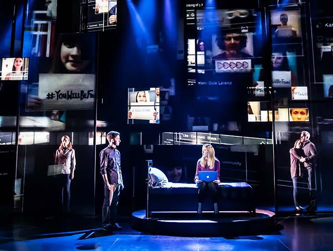 Dear Evan Hansen op Broadway Tickets - in het Music Box Theatre