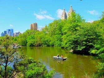 Roeiboot huren in Central Park - Stel Roeien