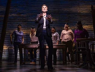 Come From Away op Broadway Tickets - Vliegtuigcrew