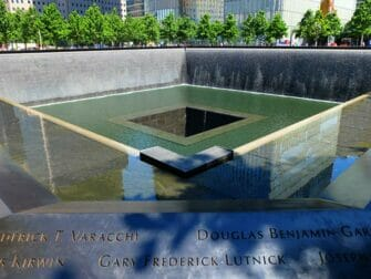 Verschil tussen New York Explorer Pass en New York Pass - 911 Memorial